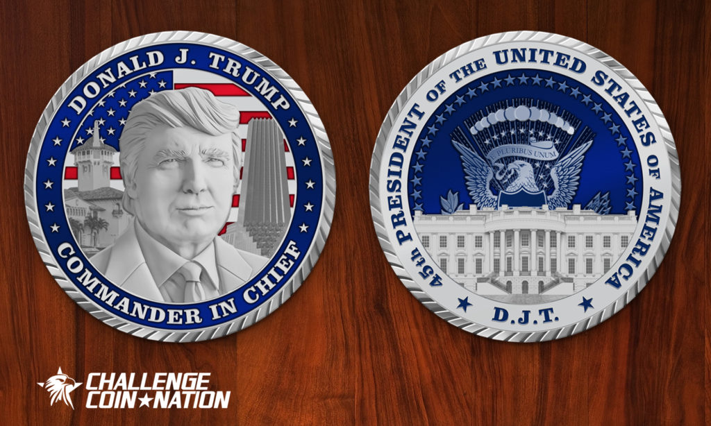 Challenge Coin Nation's Appeal to President Trump to